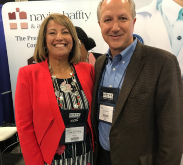 Dave Rizk and MEDITECH's Hoda Sayed-Friel at MUSE 2019