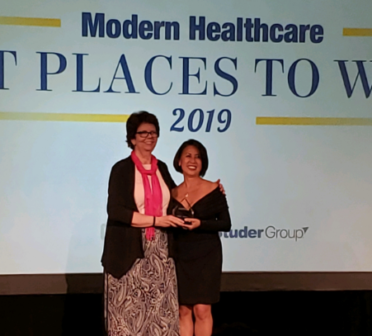 NHA receives Modern Healthcare's Best Places to Work Award 2019