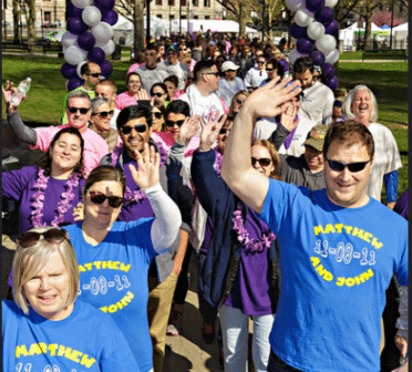 Walking in the March of Dimes March for Babies