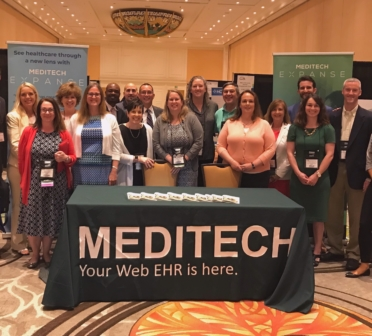 NHA and MEDITECH at 2018 International MUSE