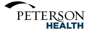 Peterson health logo